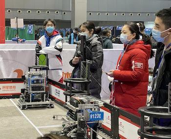 Robotics Team Members Hone Skills for the Future